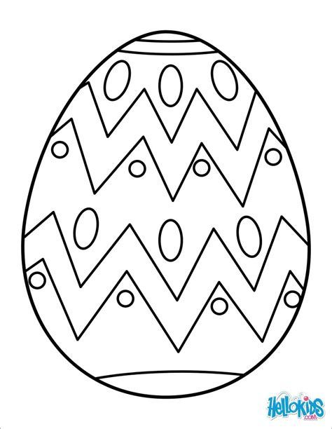 coloring book pages easter eggs painted easter egg coloring pages hellokids com