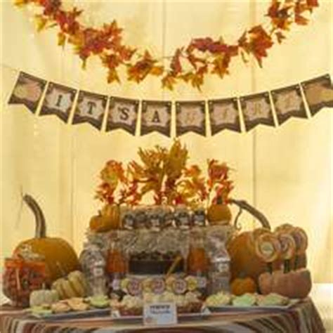 fall themed decorations autumn ideas for a baby shower catch my