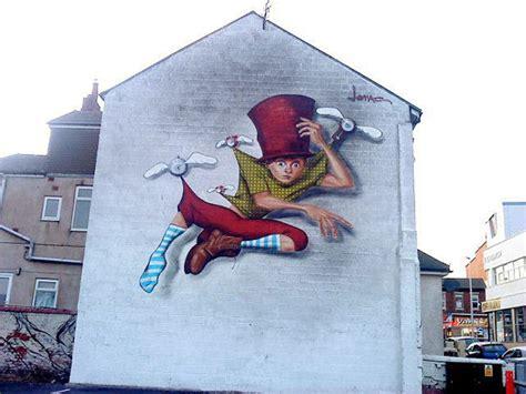 lonac  mural  blackpool uk streetartnews