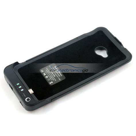resetting battery htc one m7 3800mah external battery charger case cover for htc one m7
