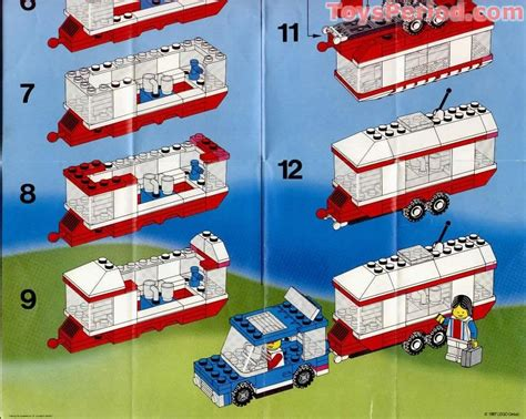 Nachttisch Set by Lego 6590 Vacation Cer Set Parts Inventory And