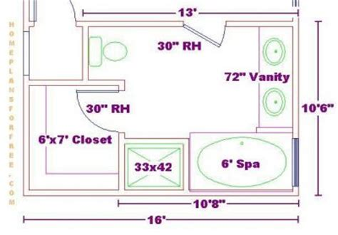 Bathroom Plans 6 X 10 Click To View Size Image
