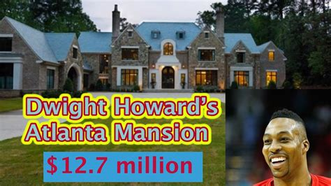 dwight howard s house in atlanta tour nba player homes