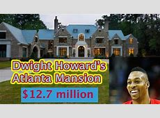 Dwight Howard's HOUSE in Atlanta Tour, NBA Player Homes ... Russell Westbrook House