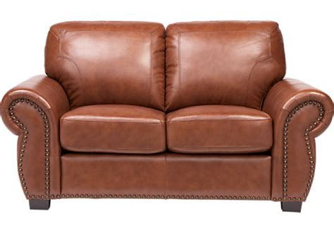 brown loveseats balencia light brown leather loveseat leather loveseats
