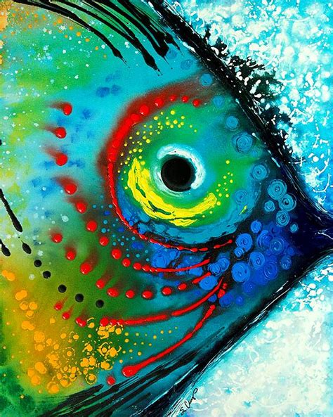 Tropical Themed Quilts - tropical fish paintings