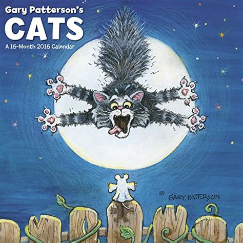 2018 gary patterson s cats wall calendar mead read gary patterson s cats wall calendar 2016