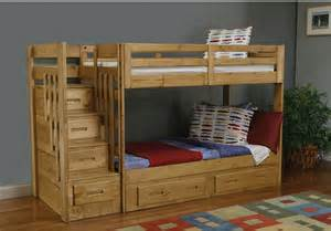 Staircase For Bunk Bed Ponderosa Staircase Bunk Bed The Brick