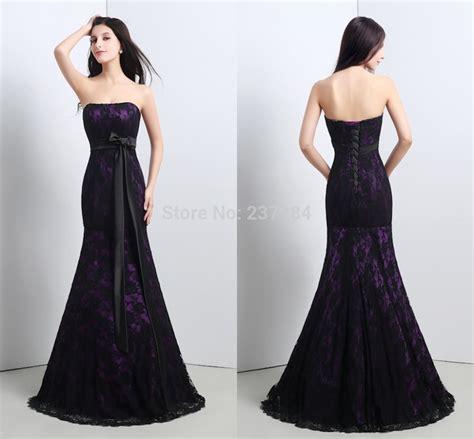 dress pattern lace up back aliexpress com buy black lace mermaid evening dress 2016