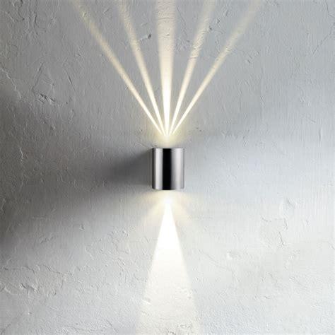 wandleuchten up and innen baleno led wandle up mit lichtfilter edelstahl 11354