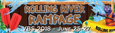 vacation bible school vbs 2018 rolling river rage decorating mural experience the ride of a lifetime with god books vacation bible school 2018 umc