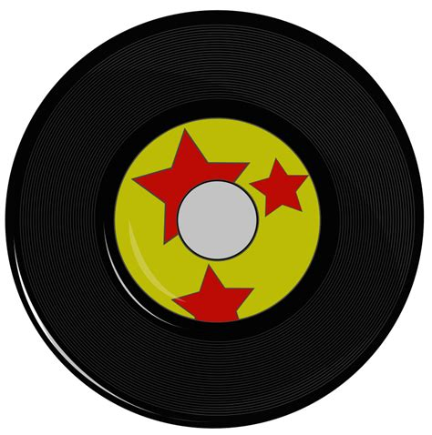 Records Media File 45 Record Png