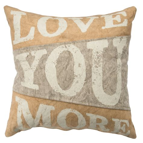 Canvas Pillows by Primitives By Kathy Canvas Pillow You More 27059