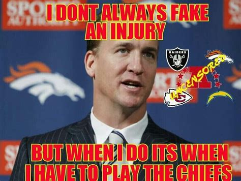 Broncos Chiefs Meme - 147 best bronco raider hater images on pinterest