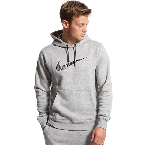 Jaket Sweater Dc Nike Black mens nike swoosh hoodie black navy grey fleece hoody