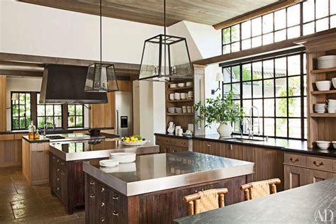 napa kitchen island glass and steel architecture decorating ideas