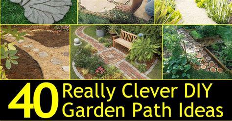 Cottage Garden Paths - 40 really clever diy garden path ideas