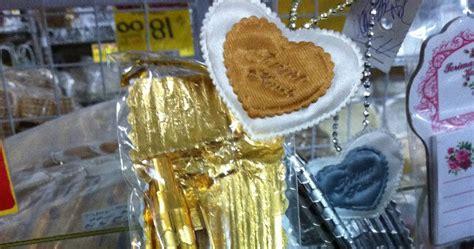 Souvenir Bukutamu Renda Emas Perak Cjc5 token perkahwinan door gift kahwin rm 0 90 murah borong