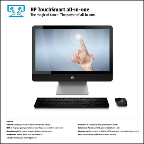 hp envy recline 23 touchsmart all in one hp envy recline 23 k010 touchsmart all in one pc front view