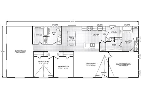 waverly crest 40703w fleetwood homes manufactured homes for fleetwood homes floor plans new fleetwood waverly crest 28683w strictly manufactured