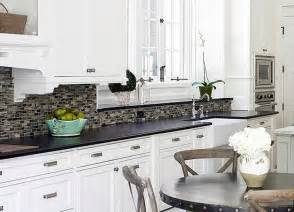 backsplash for black and white kitchen kitchen kitchen backsplashes ideas white kitchen