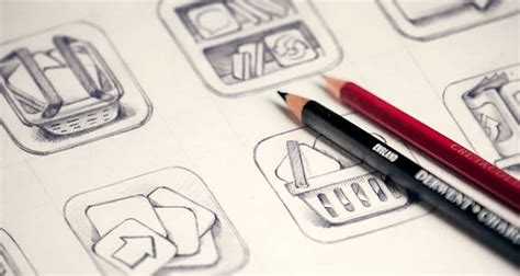 design icon in sketch inspirational exles of icon sketching