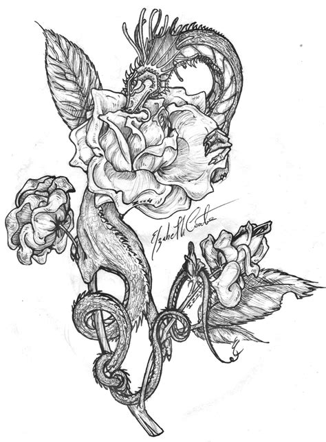 dragon tattoo novel japanese dragon coloring pages dragon s rose by ohkey