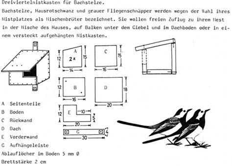 nistkasten zaunk nig bauanleitung 1836 zaunk 246 nig nistkasten bauanleitung nabu naturschutzbund