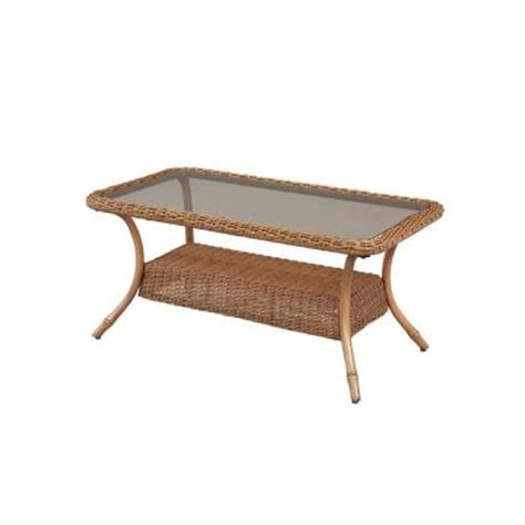 Home Depot Patio Table Hton Bay Clairborne Patio Coffee Table Dy11079 Tc The Home Depot