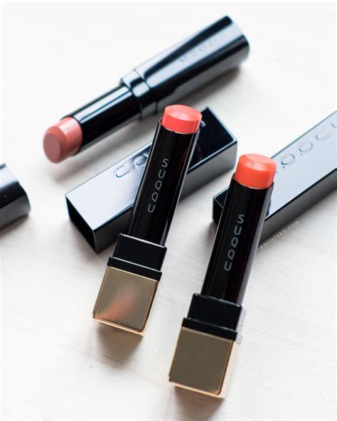 Lipstik Glow review suqqu aw16 exclusive lipsticks emilyloke