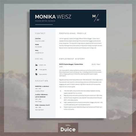 Resume With Templates by Best Resume Templates 15 Exles To Use Right
