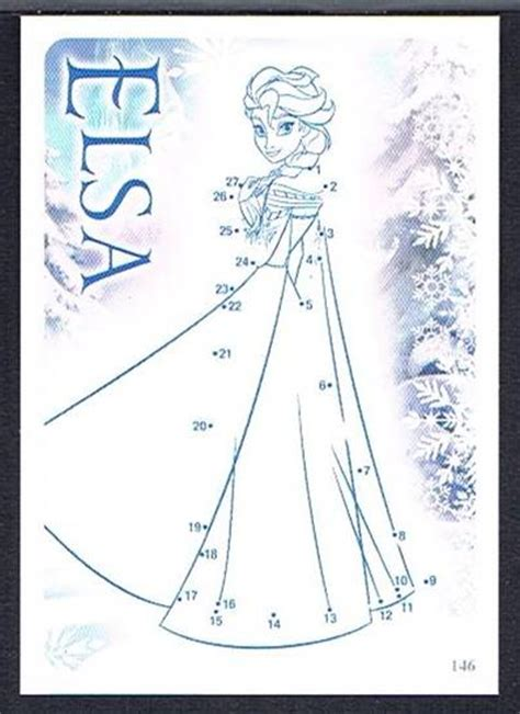 printable frozen dot to dot 5 best images of elsa printable connect the dots frozen