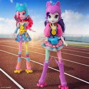 Are Blind Skateboards Good Promo Image For Rollerskater Pinkie Pie And Rarity Dolls