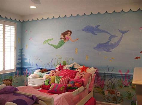 the little mermaid bedroom decor mermaid theme d 233 cor for kids interior designing ideas