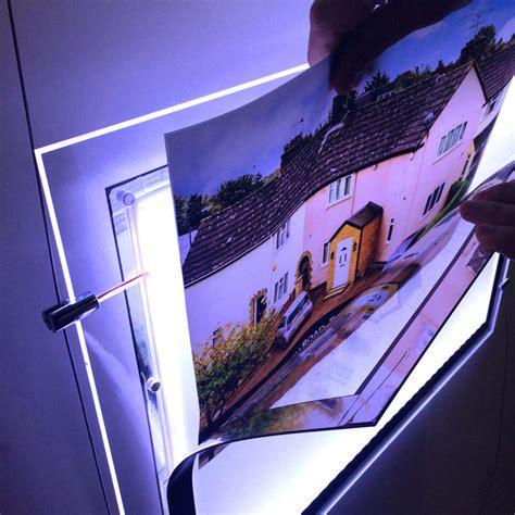 led light window display 40 units a3 led light pocket ink printer paper for estate