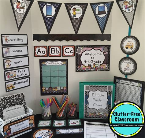 Tech Decor by Technology Themed Classroom Ideas Printable Classroom