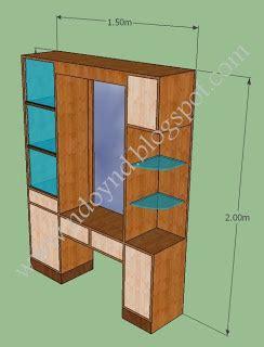 Lemari Pakaian Plus Meja Rias tegal kotaku lemari pakaian meja rias one set