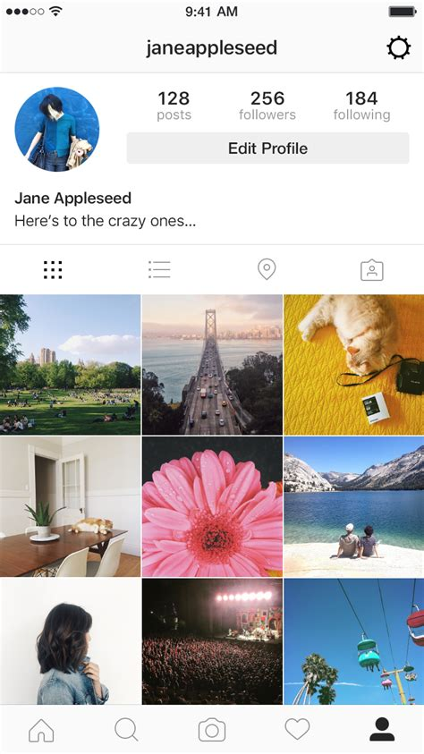 design instagram names instagram entirely new look
