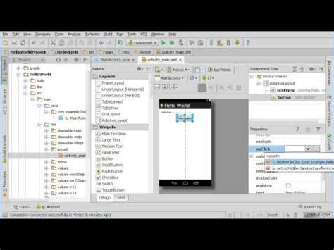 Android Studio Button Onclick by Adding Code To A Button Click In Android Studio
