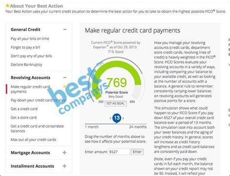 credit report fico score powered by experian experian credit tracker review