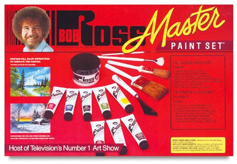 bob ross painting products bob ross master paint set blick materials