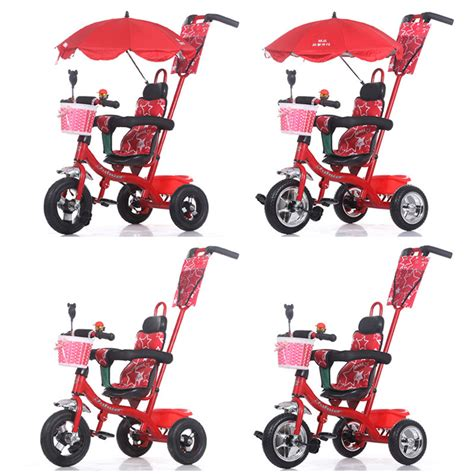 sepeda stroller tricycle import baby stroller pram bb rubber wheel tires child