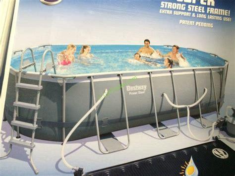 Backyard Pools Costco Bestway Rectangular Pool 18 X9 X48 Costcochaser
