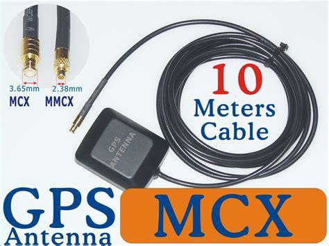 marine gps antenna mcx mmcx sma bnc male adapter