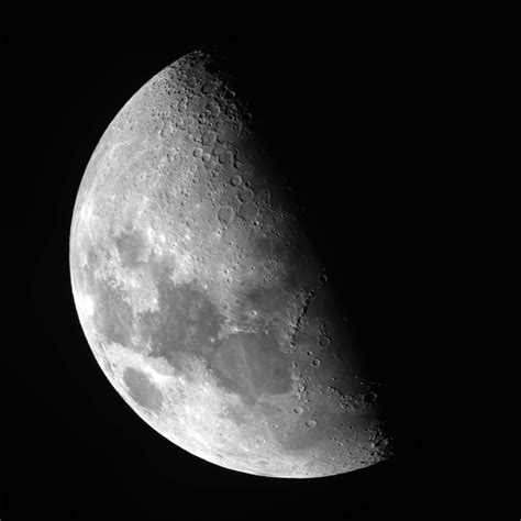 Half Moon by Lunar Mike S Astro Photos