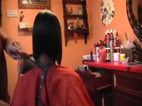 salons specializing in short hair houston black hair salons houston l layered bob haircut youtube