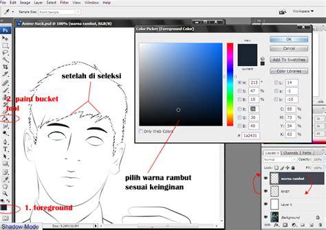cara membuat kartu nama anime cara membuat foto menjadi kartun anime diphotoshop