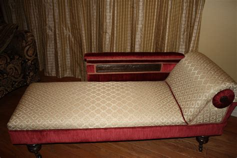 antique fainting couch for sale antique fainting couch civil war era period fabric