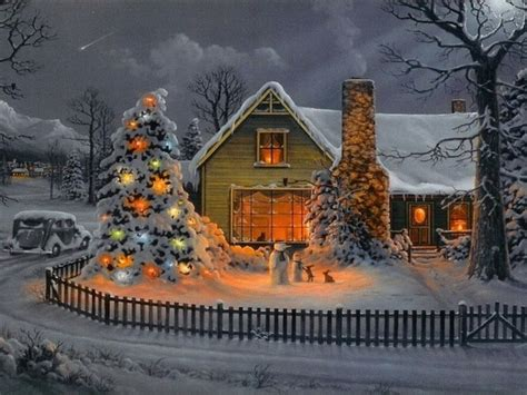 christmas illustration christmas house pictures photos