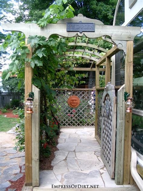 Garden Gate Trellis 20 Arbor Trellis Obelisks Ideas Empress Of Dirt